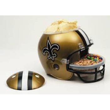 New Orleans Saints Snack Helmet - 4