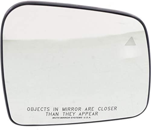 For Jeep Grand Cherokee Mirror Glass 2011-2018 Passenger Side   Heated   Convex Glass Type   w/Backer Plate/Blind Spot Detection   w/o Turn Signal Light   68082638AB