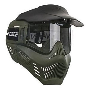 V-FORCE Armor Fieldvision gen 3 Paintball Mask / Goggles - Olive