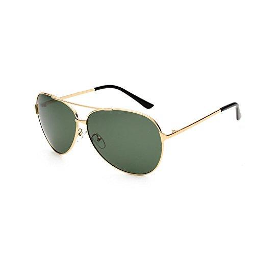 El UV400 Sol Para Gafas Unisex Conducir Gafas De Thegoldboxisdarkgreen Metal Sol De Polarizadas Wv58U51nFq