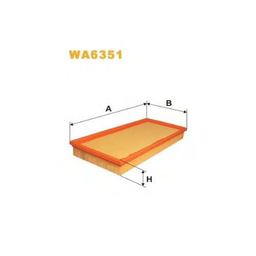 Wix Filters WA6351 Air Filter: