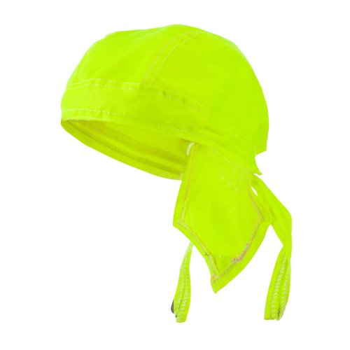 Solid Color Series Head Wraps - High Lime OSFM