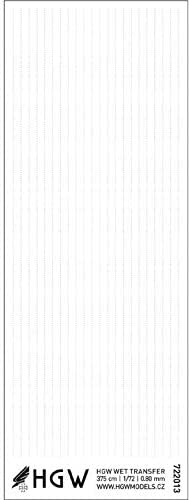 #722013 HGW 1//72 Single Lines Positive Rivets 0.80 mm