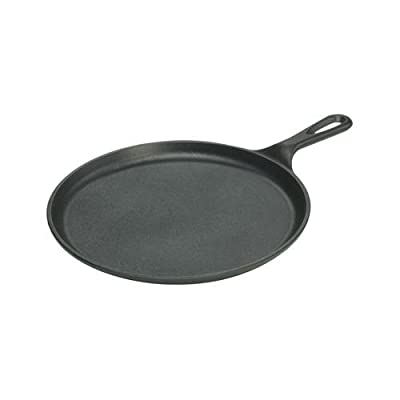Lodge Mfg L9OG3 Logic Griddle, Seasoned Cast Iron, 1/2 x 10-1/2-In. Round