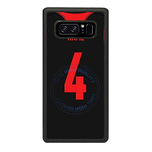 (BRGiftShop Personalized Custom Name Basketball Jersey Rubber Phone Case for Samsung Galaxy s10 Plus)