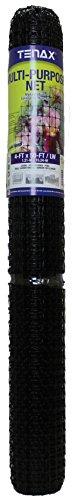 Tenax 2A090059 Muti-Purpose Multipurpose Net, 4' x 50', Black ()