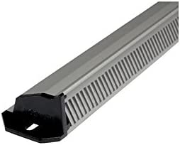 Grille daeration aluminium d'entree d'air renson-486//2 Finition.Noir Renson s.a