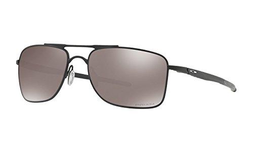 Oakley Gauge 8 Large Sunglasses Matte Black with Prizm Black Iridium Lens + - Gauge Sunglasses