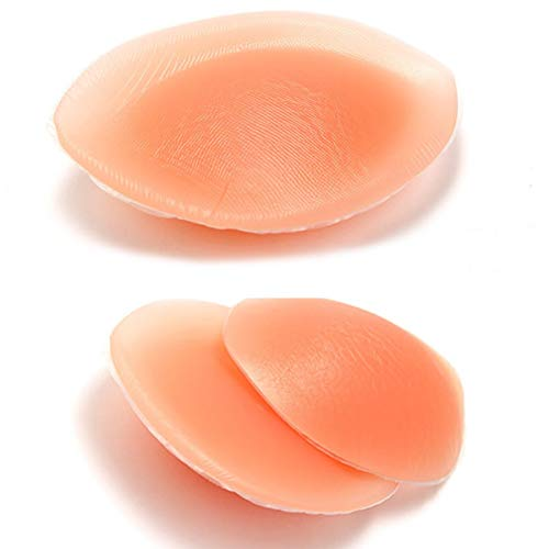Silicone Breast Inserts - Waterproof Enhancers Bra Inserts B to D Cup for Swimsuits & Bikini