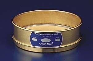 Advantech Manufacturing Lab - ADVANTECH MANUFACTURING 325BB8F Brass Frame Wire Cloth Test Sieve, 8