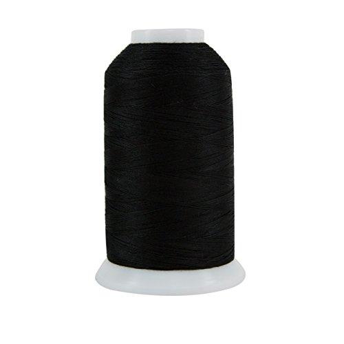 Superior Threads 121029XX977 Ebony 3-Ply 40W King TUT Cotton Quilting Thread, 2000 yd