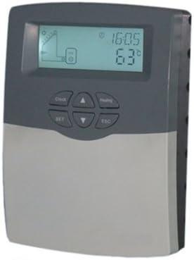 Solarsteuerung Temperaturdifferenzregler f/ür Heizungs und Schwimmbadanlagen