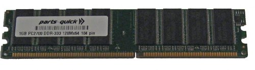 Fic Sdram Memory - 1GB Memory Upgrade for FIC P4M-800T2 Motherboard 184 pin PC2700 SDRAM DIMM RAM (PARTS-QUICK BRAND)