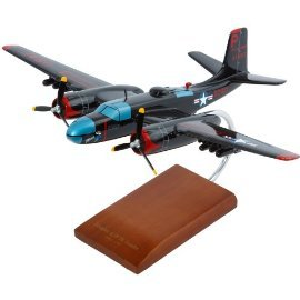 Mastercraft Collection B-26C Invader Wood Model Aircraft
