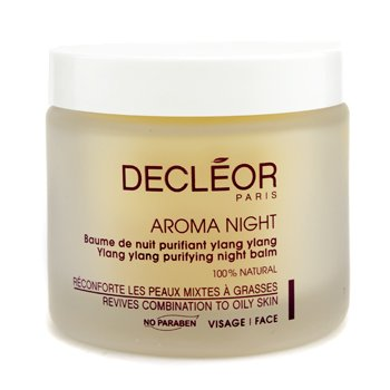 Decleor Aroma Night Ylang Ylang Purifying Night Balm, Salon Size, 3.3 Ounce by Decleor