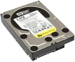 2.0TB RE4 Sata 7200 RPM HD by Western Digital