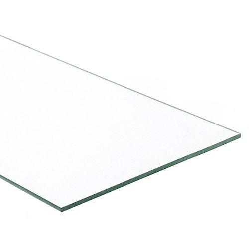 Retails Plate Glass Shelf Measures 12'' x 24'' x 1/4