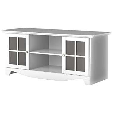 Pinnacle 56-inch TV Stand 101203 from Nexera - White