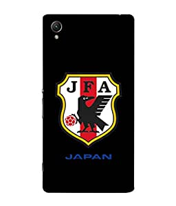 ColorKing Football Japan 04 Black shell case cover for Sony Xperia Z5 Premium