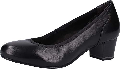 Tacco black Con 1 003 Donna 22301 Nero Tamaris 1 3 Scarpe Leather 22 0YwdvCq