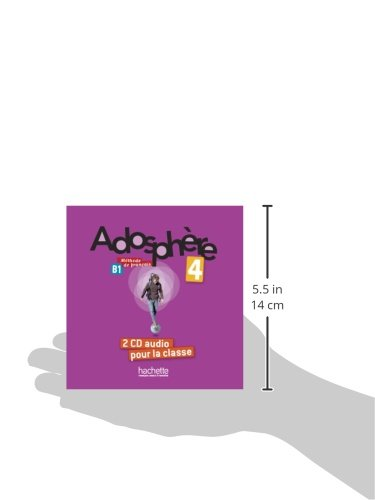 Adosphere 4 : CD audio classe (x2) (French Edition)