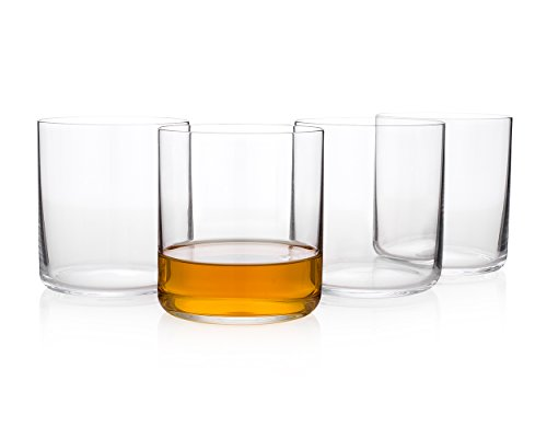 Japanese ''Ginza Bar'' Whiskey Glass (Gift Box Set of 4) by HISTORY COMPANY