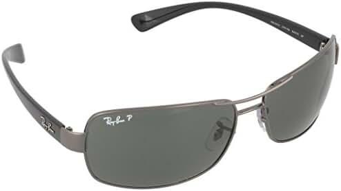 Ray-Ban RB3379 Double Bridge Wrap Sunglasses