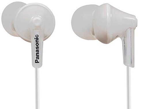 Panasonic Wired Earphones White RP HJE125 W