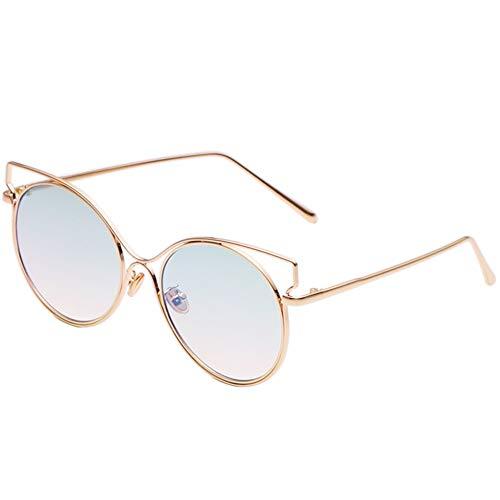 Gafas las de gafas sol grandes de gato caja sol de NIFG la transparentes de de gato caja del ojos la de los de AvwUUqFd