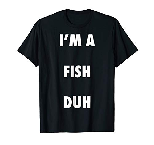 Easy Halloween Fish Costume Shirt for Men Women