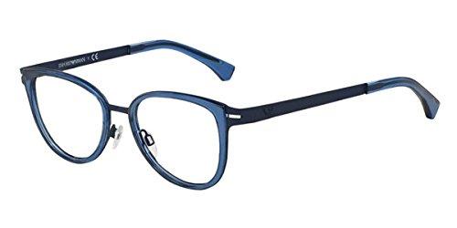 Emporio Armani Ea 1032 Blue Rubber /Demo Lens 53Mm Non-Polarized Eyeglasses