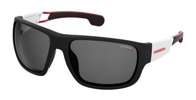 Sunglasses Carrera 4006 /S 04NL Matte Black White / IR gray blue - Sport Carrera Sunglasses