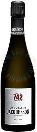 Champagne Jacquesson, Cuvee 740, Extra Brut (caja de 6). Champagne/Francia. Chardonnay, Pinot Noir, Pinot Meunier. Vino Espumoso.