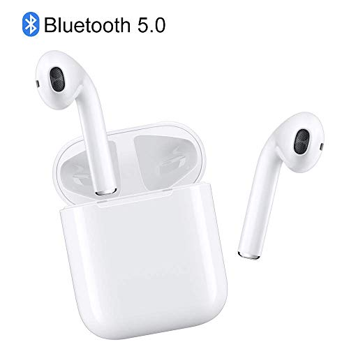 Bluetooth Headphones Wireless Earbuds Earphones in-Ear for Sport Bluetooth 5.0 headsets Stereo Sound Noise Cancelling IPX5 2 Built-in Mic Earphones for All Smartphones
