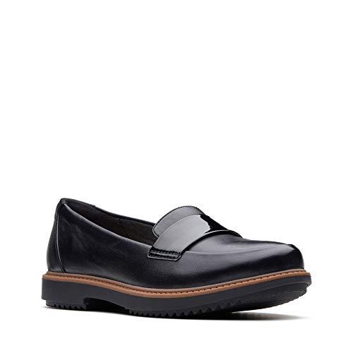'Raisie Black Clarks Womens Arlie' Loafers Leather S17t7wq