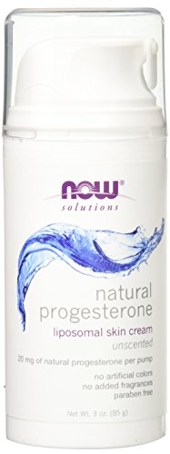 NOW Progesterone Cream, 3-Ounces