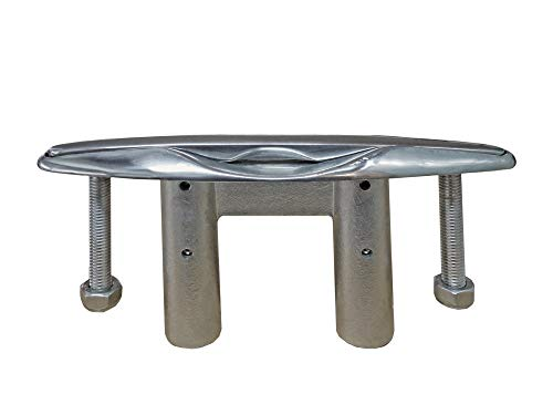 Five Oceans Stainless Steel E-Z Push-Up Cleat, 6