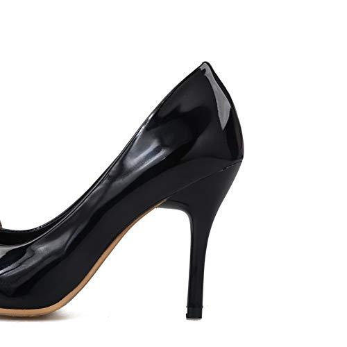 Sandales Noir SDC05610 Compensées Femme AdeeSu ZvBw5qv