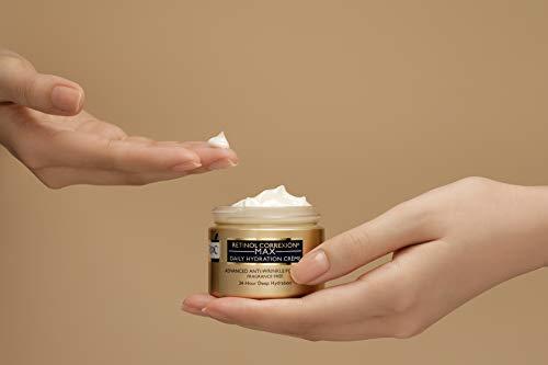 31Wsyk6lLIL - RoC Retinol Correxion Max Daily Hydration Anti-Aging Crème for 24-Hour Deep Hydration, Advanced Anti-Wrinkle Moisturizer Made with Retinol & Hyaluronic Acid, 1.7 oz