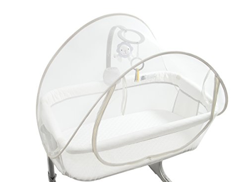 Arms Reach Mini CoSleeper White Canopy