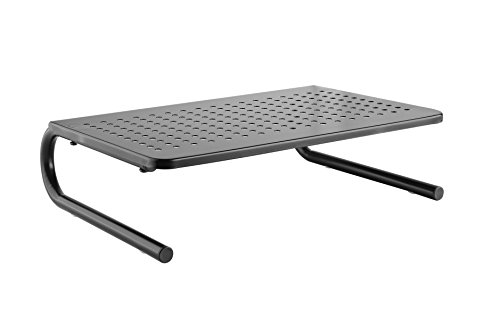 CASIII Monitor Stand Riser Vented for Computer, Laptop, Desk, iMac, Printer Platform inch Height (14.6'' X 10.8'') CAS-082 by Casiii (Image #4)
