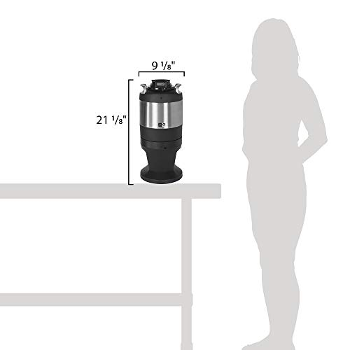 TableTop King TFTR1G Freshtrac 1 Gallon Coffee Dispenser with Rear-Facing Lid and Lockable Base by TableTop King (Image #1)