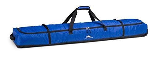 High Sierra Wheeled Double Ski Bag, Vivid Blue/Black