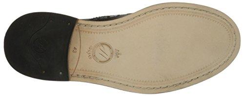 H By Hudson Mens OConnor Calf Oxford Shoe Black