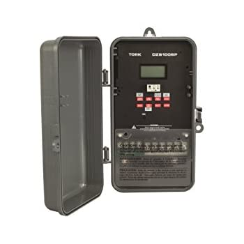 DZS Series Multipurpose Control 365/7 Day Advanced Time Switch, 120/208-240/277 VAC Timer Supply, 1 Channel, DPDT Dry Contact