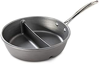 product image for Nordic Ware Divided Sauce Pan, 2-in-1, Silver