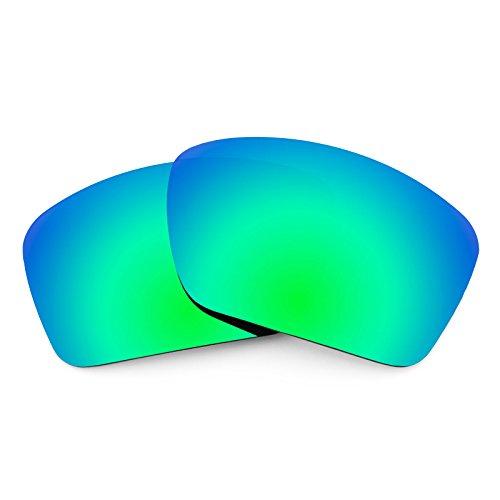 Verres de rechange pour Costa Cat Cay — Plusieurs options Polarisés Elite Rogue Vert MirrorShield®