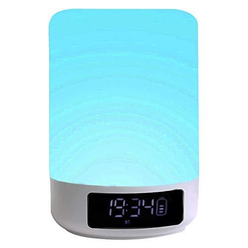 Agdgjrkjk Night Light Bluetooth Speaker LED Night Light,