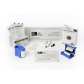 Zebra card 105999-101 Cleaning Kit for ZXP Series 1 Card Printer - Zebracard Cleaning Card