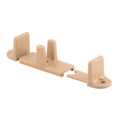 Prime-Line Products N 7316 Closet Door Adjustable Guide, 1-Inch, Tan,(Pack of 2)